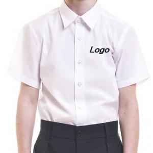 Рубашка на мальчика с короткими рукавами