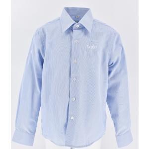 Рубашка на мальчика голубая