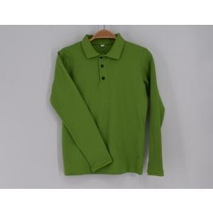 2. Poiste polosärk, roheline, pikkade varrukatega